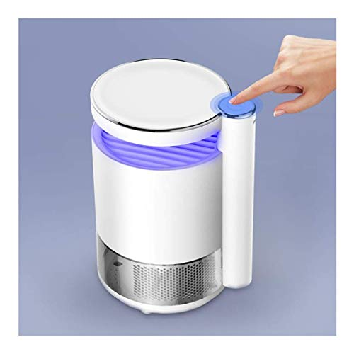 HCFSUK Lámpara para Matar Mosquitos - Inhalación Física Onda de luz Trampa para Mosquitos Repelente Silencioso No tóxico Insípido Dormitorio Cocina Comedor Atrapa Moscas