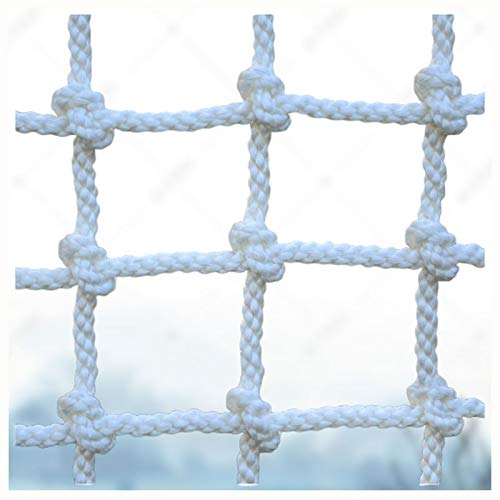 Red de escalada,Valla de red de seguridad Kids Adult nylon rope red de protección de seguridad para escalada al aire libre carga fija,camión de carga plataforma pesada Redes...