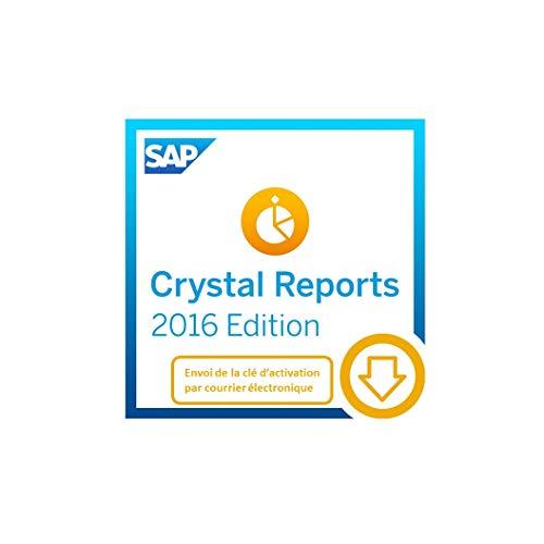 SAP Crystal Reports 2016 | Standard | PC | Code d'activation PC - envoi par email