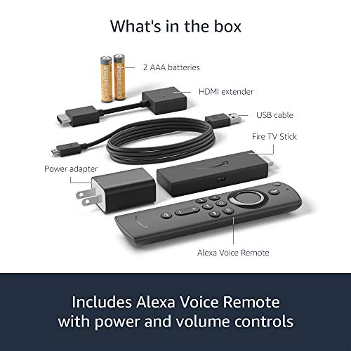 All new Fire TV Stick with Alexa Voice Remote (includes TV controls) | Dolby Atmos audio | 2020 release