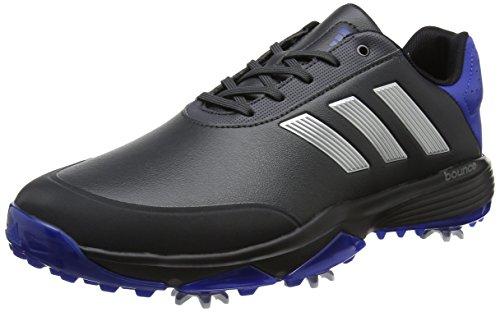 adidas adidas Herren Adipower Bounce Golfschuhe, Grau (Carbon/Silver Metallic/collegate Royal), 42 EU