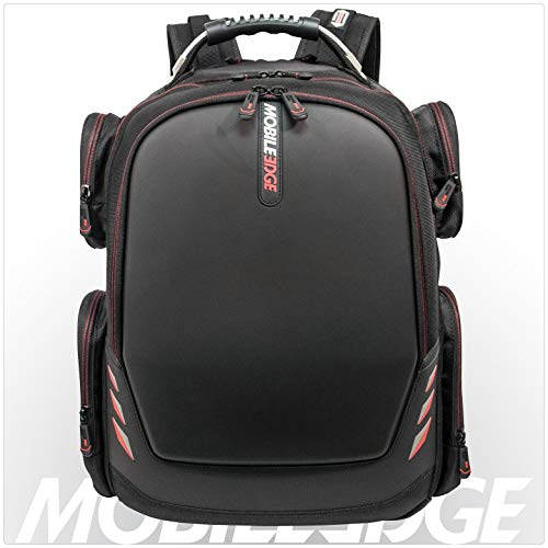 Mobile Edge Core Gaming Laptop Backpack, Molded Front Panel, 17 - 18...