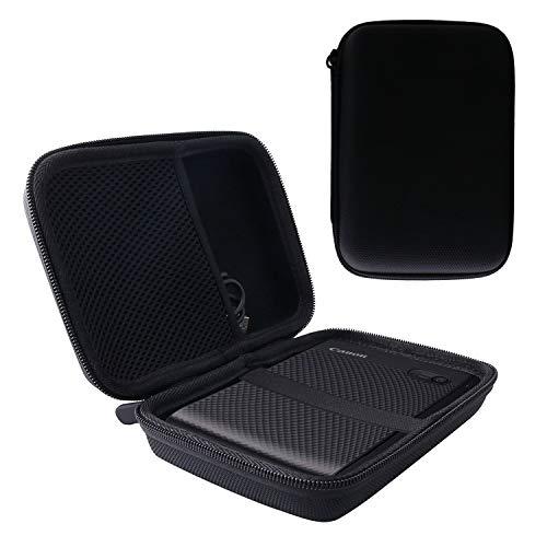 用の Canon スマートフォン用プリンター SELPHY SQUARE QX10 専用保護 キャリングケース 収納ケース -waiyu JP (黒)