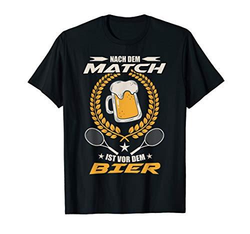 Tennis & Bier Für Tennisspieler & Tennisspielerin T-Shirt