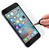 [ PREMIUM ] Apple iPhone 7 Plus Tempered Glass Screen Protector - Shield, Guard & Protect Phone From Crash & Scratch - Anti Smudge, Fingerprint Resistant, Shatter Proof - Best Front Cover Protection