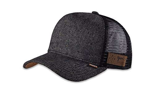 Djinns - Trucker Cap - Spotted Tweed 2013 - Black - One-Size