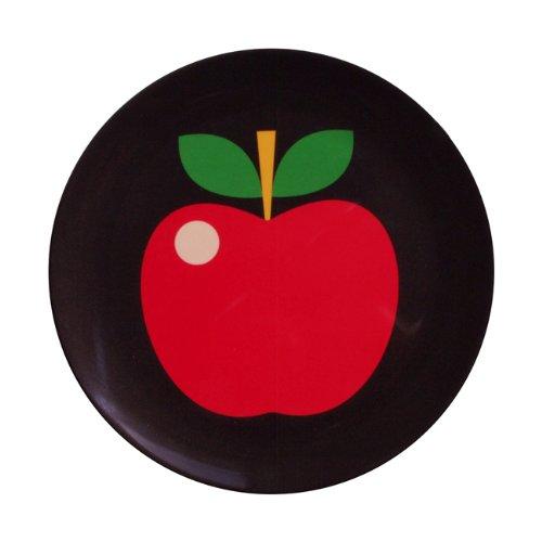 OMM-design Ingela P Arrhenius (インゲラ・アリアニウス) メラミンプレート (apple/アップル)