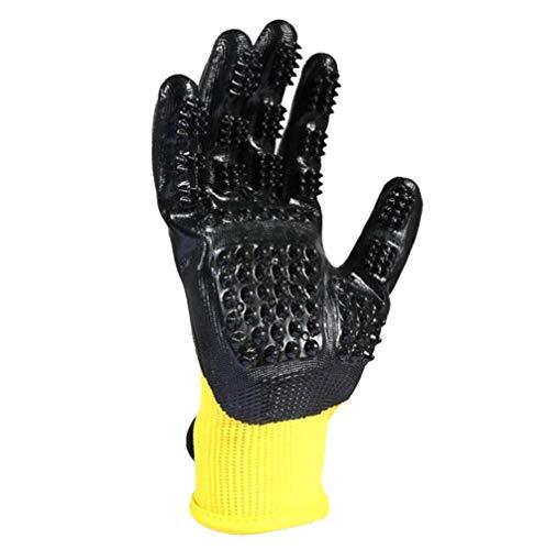 Huisdier Handschoenen Bad Massage Schoonmaken Handschoenen Katten En Honden Kat Haar Borstelharen Om Harige Kam Haar Handschoenen