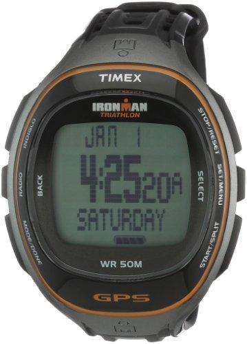 Timex Ironman Run Trainer T5K575 - Reloj Digital de Cuarzo para Hombre, Correa de plástico Color Negro