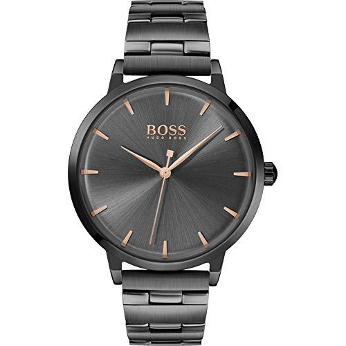 Hugo BOSS Reloj Analógico para Mujer de Cuarzo con Correa en Acero Inoxidable 1502503