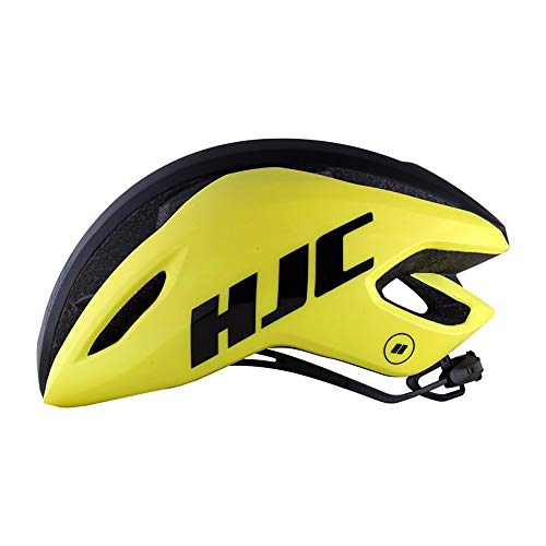 HJC Valeco Road Helmet mat Gloss Yellow Black 2020 Fietshelm