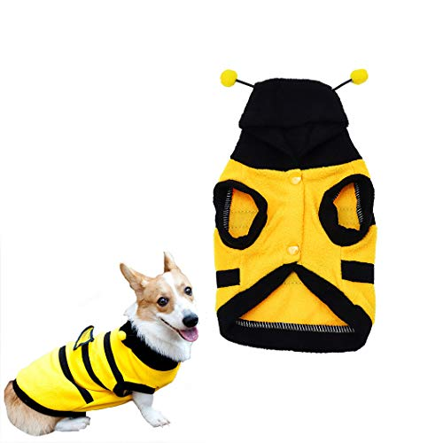 Dog Bee Hoodie Clothes