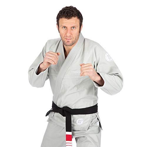 Tatami Fightwear Essential Gi 2.0 - Gris |A1| Gimnasio, Entrenamiento, Jiu Jitsu, Grappling, BJJ, MMA