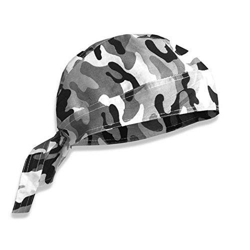 PURECITY© Bandana militaire préformé US Army - Serrage ajustable - 100% Coton - Airsoft - Paintball - Moto - Biker - Outdoor (Urban Camouflage)