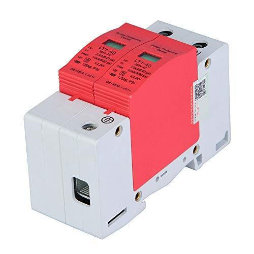 SANON Dispositivo de Protección Contra Sobretensiones Relámpagos Telefónicos Tele Protector Descargador de Baja Tensión