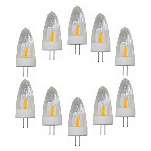 Hoogwaardige LED-lichtverpakking met 10 G4 LED-gloeilampen, dimbaar, 220 V, 3 W (30 W halogeenequivalent), 260 lm, 3000 K / 6000 K, G4-fitting, G4-kristallen gloeilampen voor de verlichting thuis.