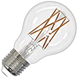 Bulbrite 776613 - LED8A19/27K/FIL/3 A19 A Line Pear LED Light Bulb