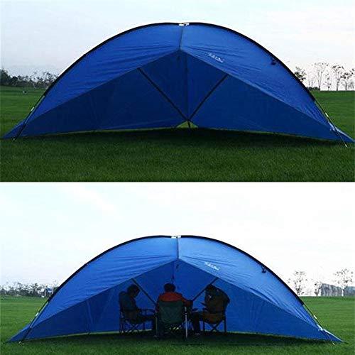 Générique Linabind Grande Tente de Camping trilatérale imperméable et Anti-UV, Bleu Canard