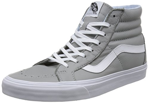 Vans Sk8-hi Reissue, Unisex-Erwachsene High-Top Sneaker, Grau (Leather-Oxford/Drizzle), 36 EU
