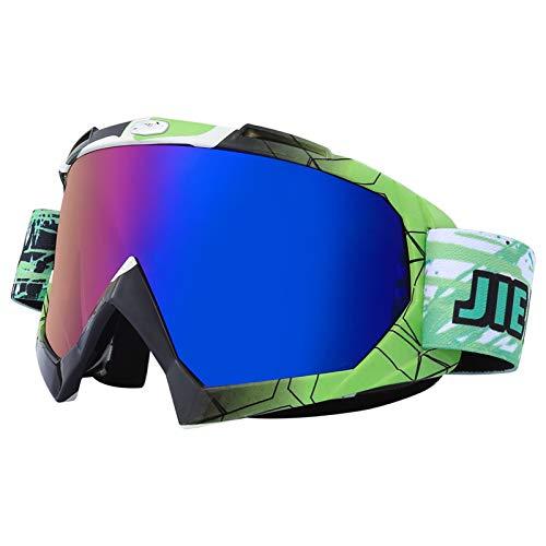 ZYQDRZ Gafas De Moto, Espejos De Parabrisas para Motocicletas De Ciclismo, Gafas De Esquí para Hombres Y Mujeres,#7