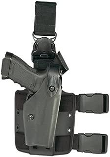 Safariland 6005 Black Taser X26 SLS Hood Quick Release Leg Harness Tactical Gun Holster