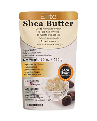 Elite Shea Butter: Raw Unrefined Shea Butter From Ghana. Includes A Free Recipe On How To Make A Body Butter
