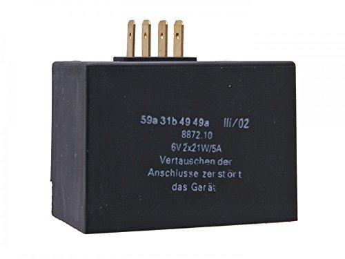 Laderegler/Blinkgeber 6V 2x21W, 5A für Simson SR50