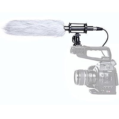 Boya BY-PVM-1000L Professional Condenser Shotgun Microphone for Camera