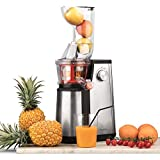H.Koenig Extracteur Fruits et Légumes Vertical GSX22 Centrifugeuse Vitamin + sans BPA-82 mm Large...