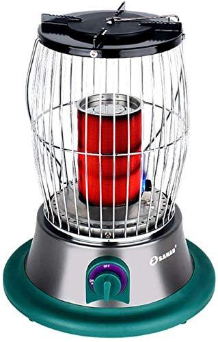 Calentador portátil para pesca al aire libre, gas de combustión rápida, multifunción de 360 grados, resistente al viento y que ahorra energía, estufa para asar a gas licuado (sin tanque de gas)