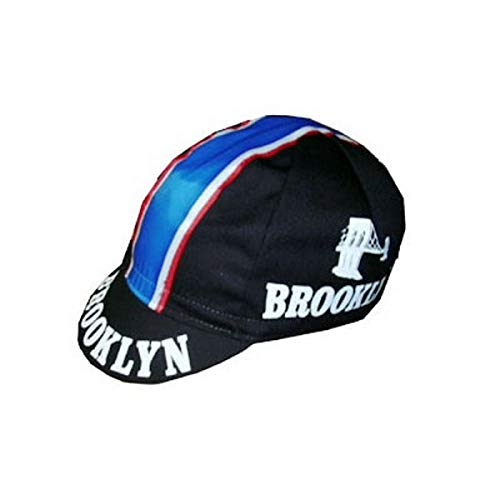 Apis Gorra Ciclismo Team Vintage Brooklyn Negro Cycling Cap Hot by Pro...