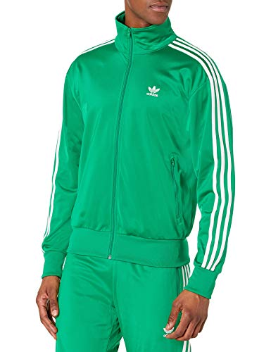 adidas Originals,mens,Firebird Track Top,Green,Medium