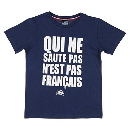 meilleures offres sur chaussures décontractées qualité-supérieure NATIONS OF FOOTBALL T-shirt Supporter France Enfant