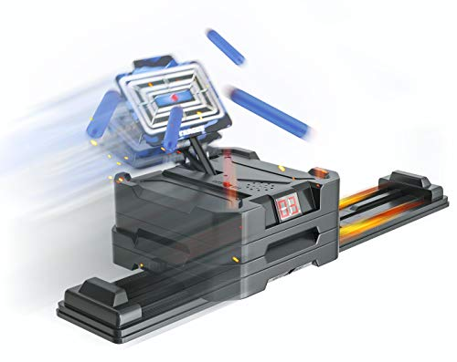 Skywin Shooting Target Game for Nerf Guns - in Motion, Automatic, Resetting, Score Keeping, Moving Target Training Game