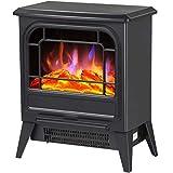 Foyer électrique Mural poêle électrique feu de cheminée électrique Portable avec Flamme...