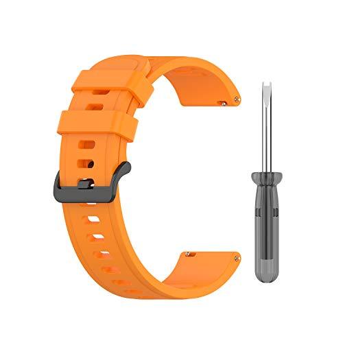 BoLuo 20mm Correa Compatible con Huami Amazfit Neo/ Polar Ignite/Polar Unite,Correas De Reloj,Reloj Recambio Brazalete...