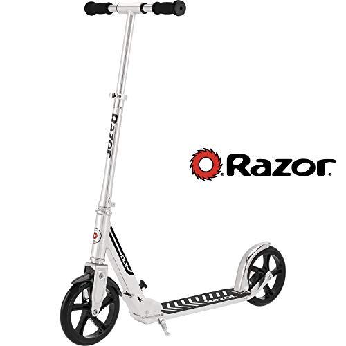 Razor A5 DLX Kick Scooter  Silver