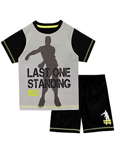 Battle Royale Boys' Gaming Pajamas Size 14 Black