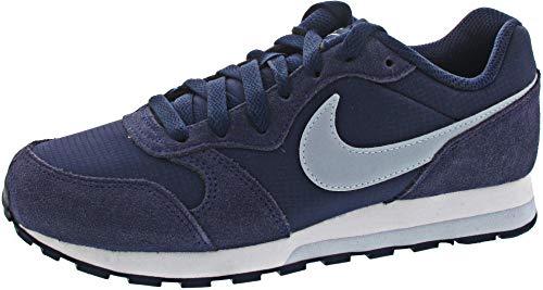 Nike MD Runner 2 PE (GS) Sneaker, Midnight Navy/Light Armory Blue, 36 EU