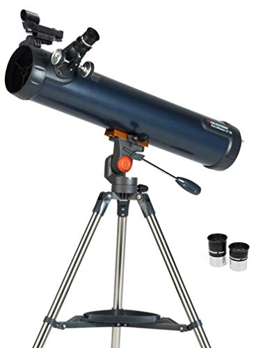 Celestron 31036 AstroMaster LT 76AZ Breathtaking Views, Astronomical Telescope, Blue