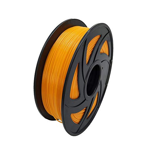 LEE FUNG 1.75mm PETG 3D Printing Filament, Dimensional Accuracy +/- 0.05mm, 2.2 LBS (1KG),1.75 mm 3D Filament for Most 3D Printer & 3D Printing Pen (Orange)