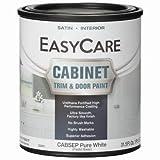 True Value Hardware CABSEP-QT Cabinet Door & Trim Paint, Satin Finish, White/Pastel Base, Acrylic Polyurethane, Qt. - Quantity 1
