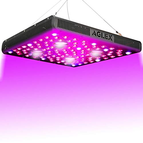 AGLEX COB 2000 Watt LED Grow Light Full Spectrum Plant Grow Lamp with Daisy Chain Veg and Bloom Switch for Hydroponic Greenhouse Indoor Plant Veg and Flower