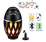 Legazone Flame Atmosphere Speakers, Table Lamp Night Light...