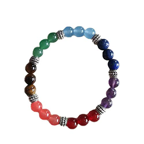 Demarkt Energy Bracelets for Men and Women, Power Bracelet with Gemstone Agate Beads (Style F)