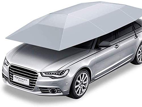 LLSS Car Moving Cover Sunshade Sun Protection Waterproof Portable Car Cover, Suitable For Outdoor Use