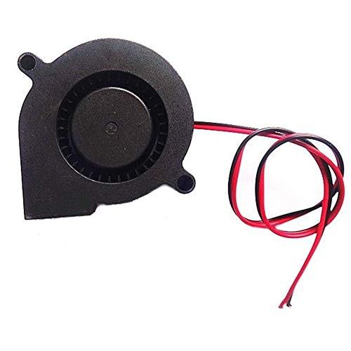 LBWNB Accesorios de impresora 3D Potencia de monitoreo 50mm*50mm*15mm 10PCS 24V DC 0.1A Ventilador de enfriamiento radial para impresora 3D Accesorios de impresora 3D
