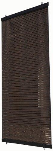 ワタナベ工業省エネ日差し対策スクリーン「ル・ソレイユ」ブラウン(幅60×高さ135cm)SN-6013