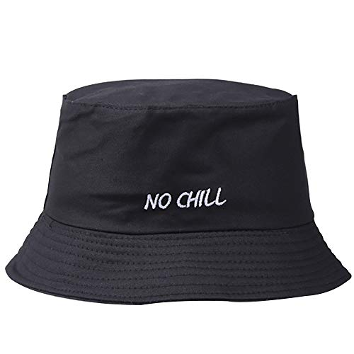 Loolik - Gorra/Moda Bordado de Cigarrillos Sombrero de Pescador/Tela de Algodón (B)