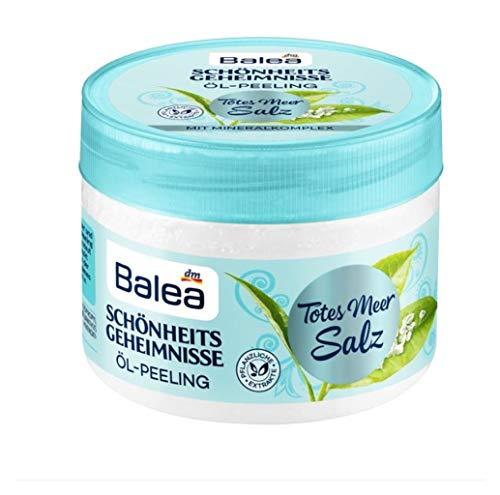 Balea - Schönheits Geheimnisse - Totes Meer Salz/weißer Tee - Öl Peeling (1x250ml) vegan